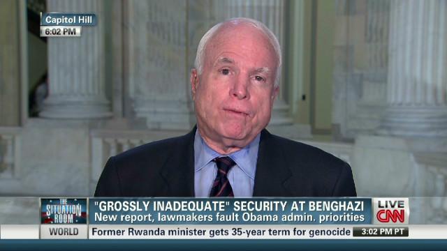 McCain: 'So many questions' on Benghazi