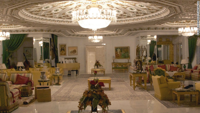 inside a dictator s palace fake diplomas sports cars