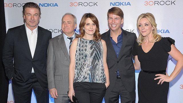 Baldwin, Fey say goodbye to '30 Rock'