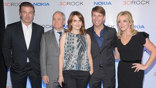 Baldwin, Fey say goodbye to '30 Rock'