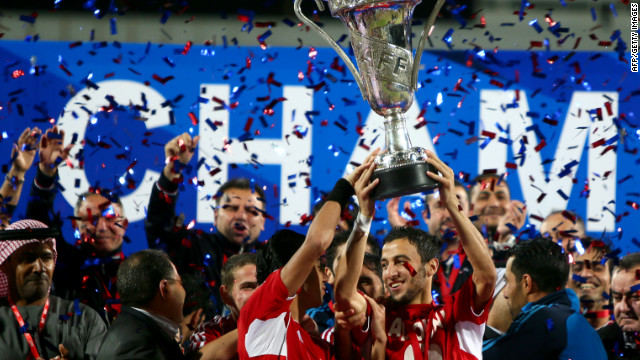 Syria's football triumph