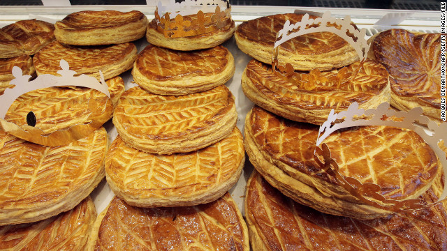 Variations on the king cake are embraced by many cultures. Some countries partake for New Year's, while in France galettes des roi are eaten on January 6.