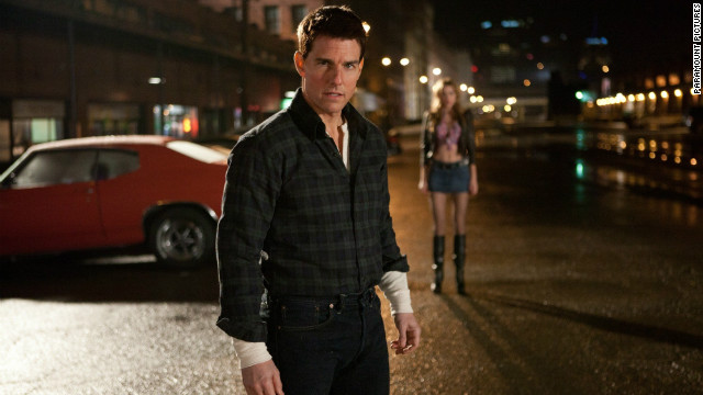 Tom Cruise stars as Jack Reacher in the film of the same name.