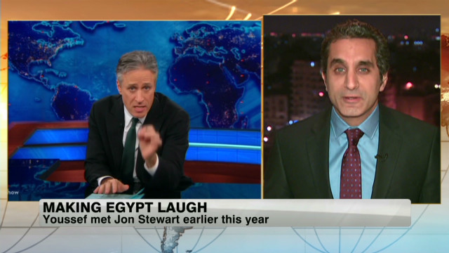 2012: Youssef brings satire to Egypt TV