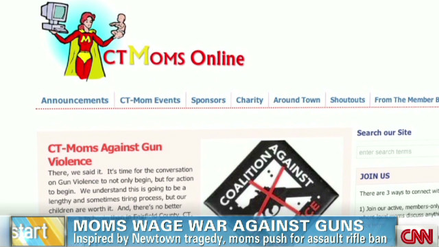 Moms wage war against guns