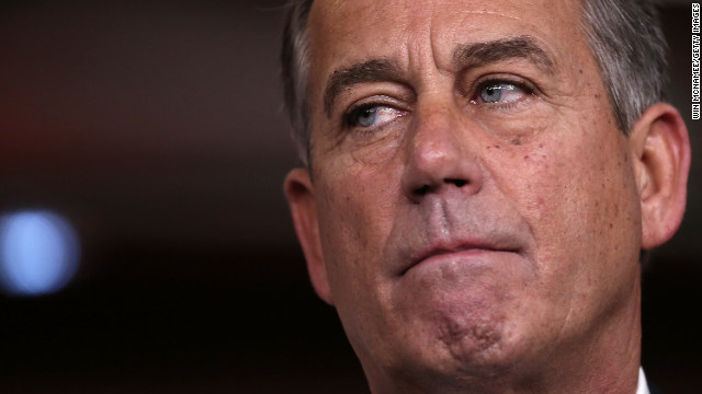 Boehner promises vote on Sandy aid Friday
