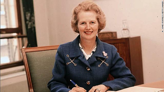 Margaret Thatcher: A slice of history