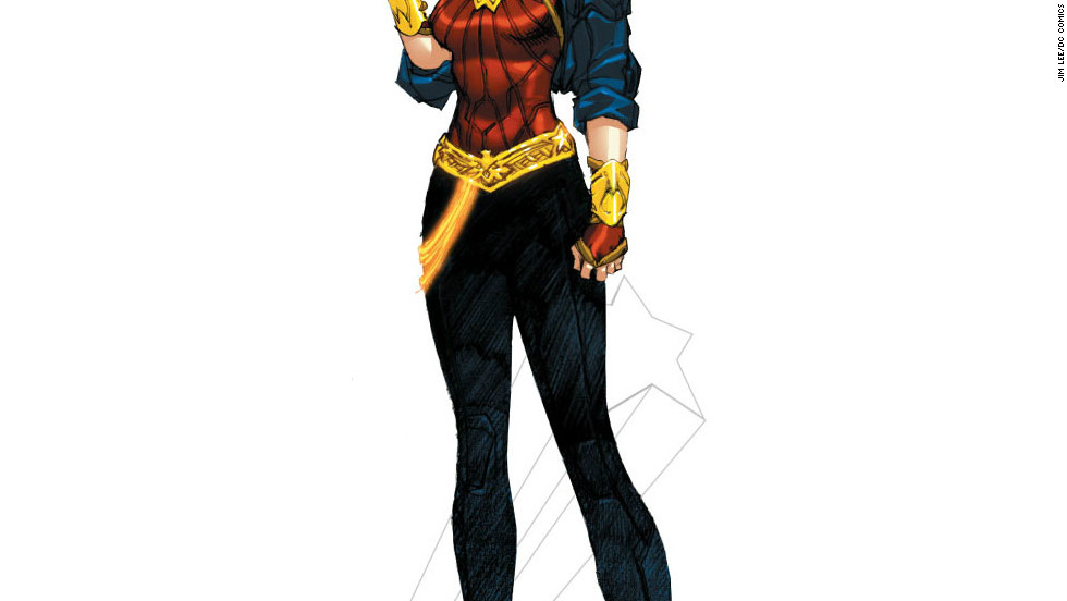 """Wonder Woman got a makeover in 2010, but the reaction wasn't<a href=""""http://marquee.blogs.cnn.com/2010/07/01/fans-react-to-wonder-womans-costume-change/""""> terribly positive.</a> With the """"New 52"""" reboot came yet another costume change."""