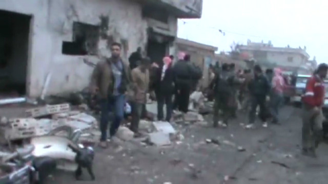 Opposition: Syrians killed in attack