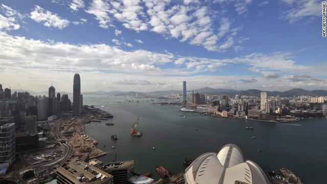 Hong Kong's iconic harbor.