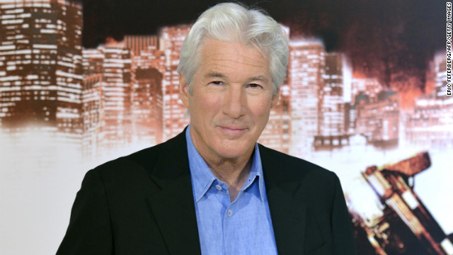 """I've never wanted for something and then was able to make it happen. Life doesn't really work like that,"" Richard Gere told CNN."