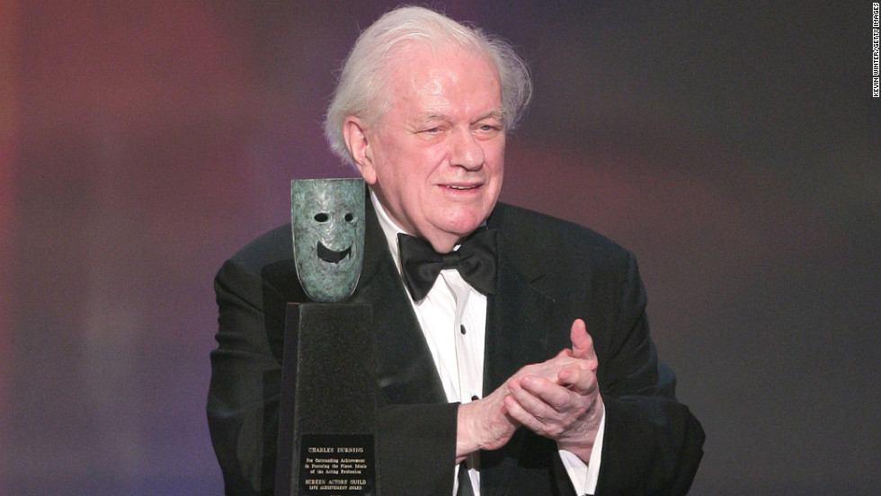 Durning is honored with the Life Achievement Award at the The Screen Actors Guild Awards on January 27, 2008.