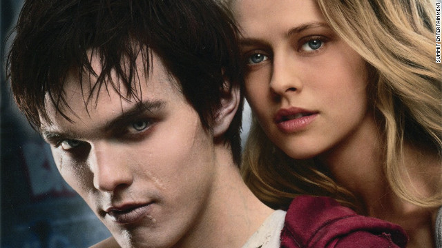 "Nicholas Hoult and Teresa Palmer star in ""Warm Bodies."""