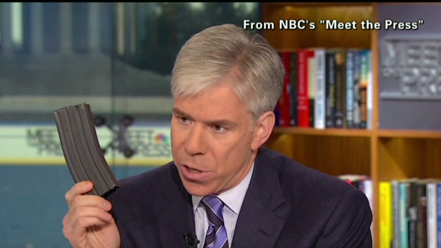 NRA pres.: Don't prosecute David Gregory