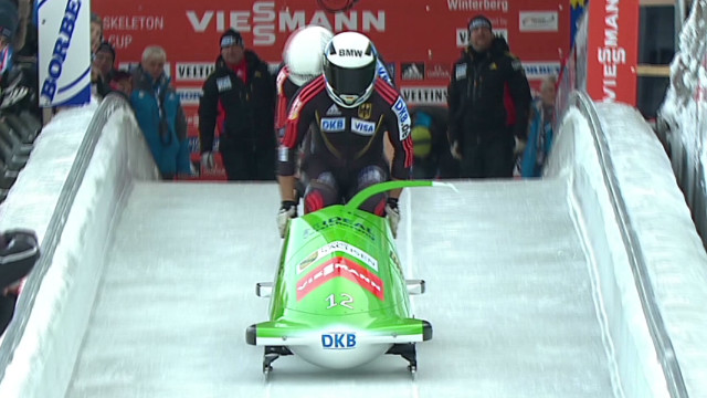 German 'ice men' master bobsleigh