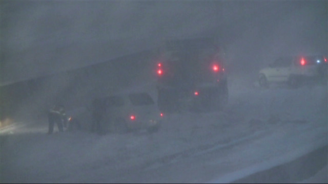 Winter storm snarls travel