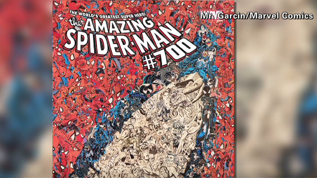 'Spider-Man' comic causing a commotion