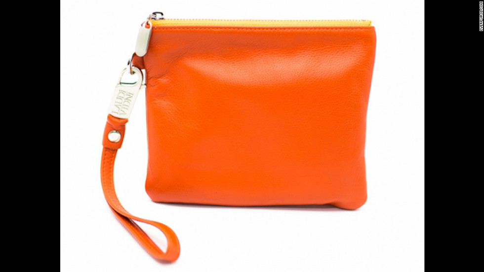 Everpurse is a handbag with a built-in receiver and battery that lets you charge your phone on the go.
