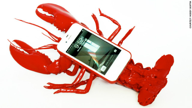 For the person who has everything, check out the life-size lobster case for an iPhone.