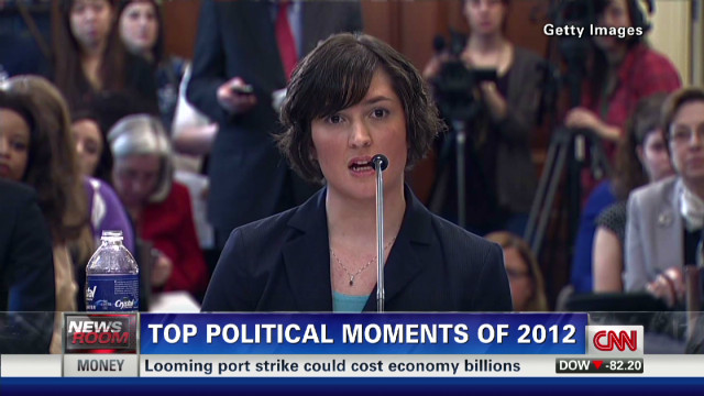 Top ten political moments of 2012