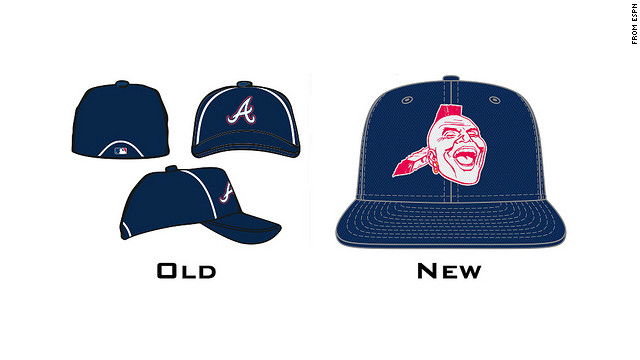 """ESPN reports that they learned from an """"industry source"""" that the Braves are planning to use the logo on a new cap design."""