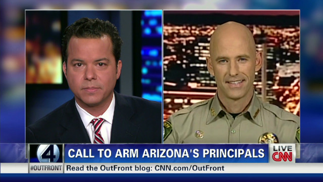 Sheriff defends call to arm school staff