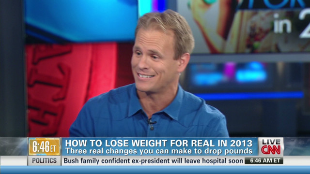 How to lose weight for real in 2013