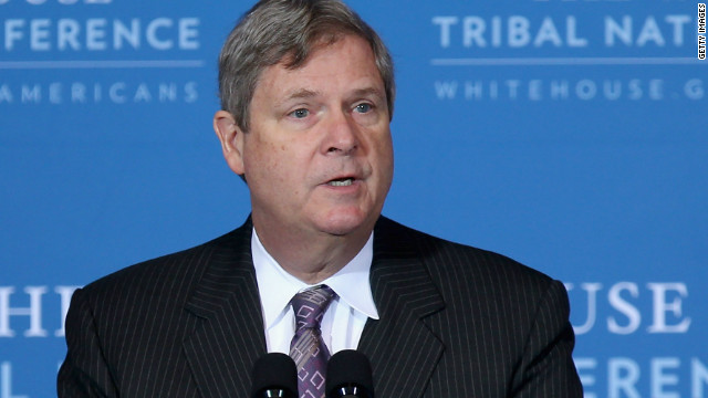 Agriculture Secretary Tom Vilsack is pictured.