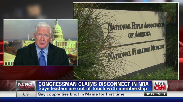 Congressman claims disconnect in NRA