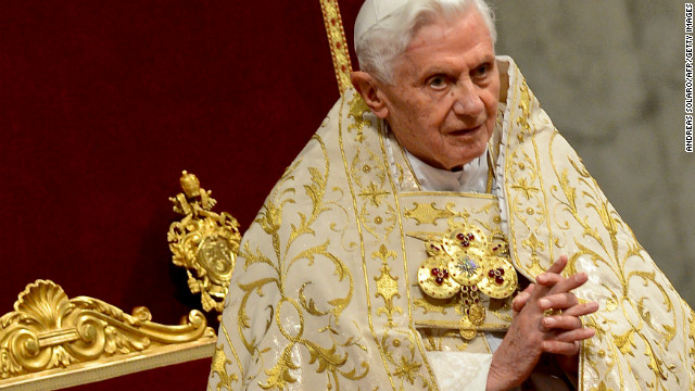 Pope cites 'advanced age' in resignation