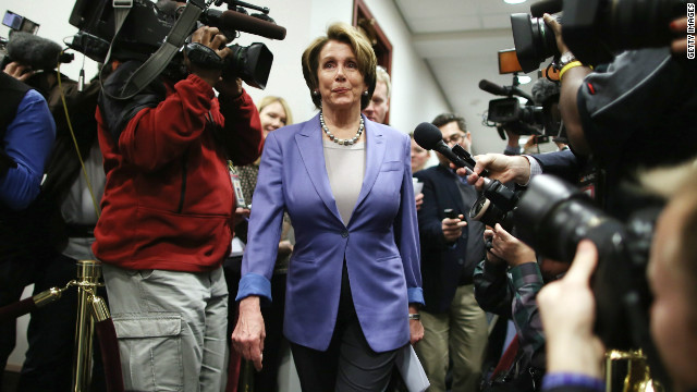 Pelosi: 'Gigantic' progress on talks
