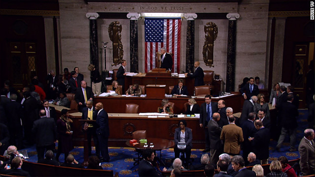 House passes fiscal cliff bill
