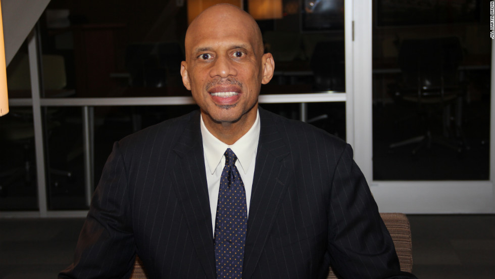 Kareem Abdul-Jabbar, the National Basketball Association's all-time leading scorer, has a new career as an author. He also is a spokesman for the pharmaceutical company that makes the drug treatment he uses to fight chronic myeloid leukemia.