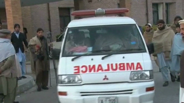 Police: 7 aid workers killed in Pakistan
