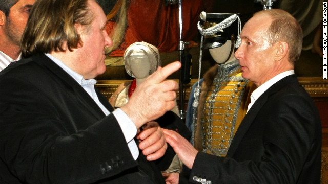 Putin gives Depardieu citizenship