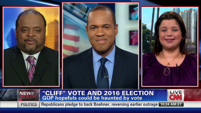 """CLIFF"" vote and 2016 election"