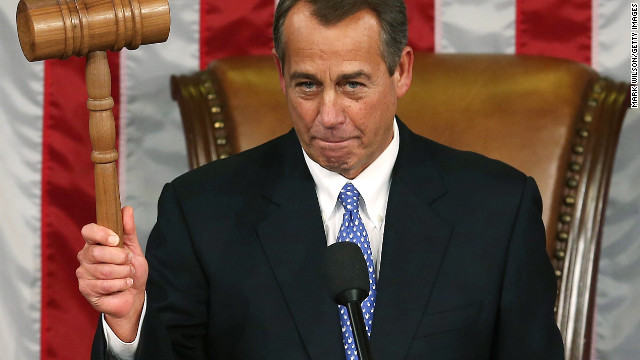 Boehner keeps top spot amid discontent