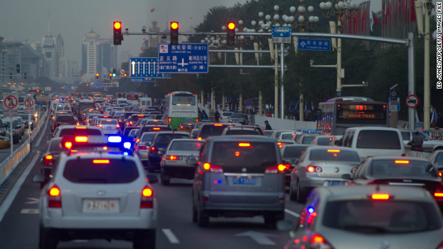 China cracks down on traffic violations