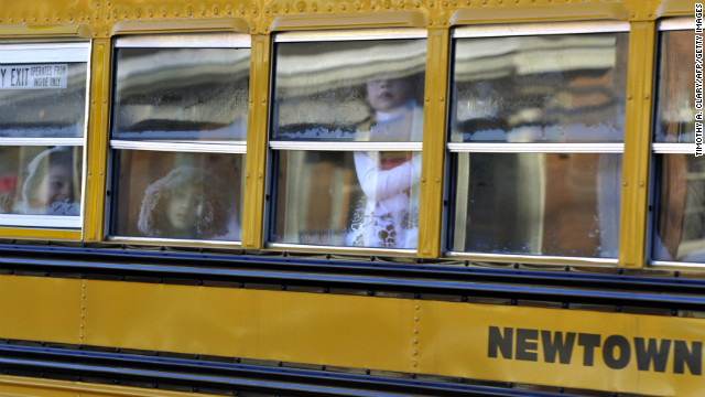 Sandy Hook kids go back to school