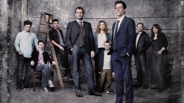 """Fox's new series starring Kevin Bacon, """"The Following,"""" is a series to watch in 2013."""