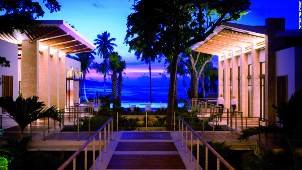 Every room and suite at the Dorado Beach property faces the beach.