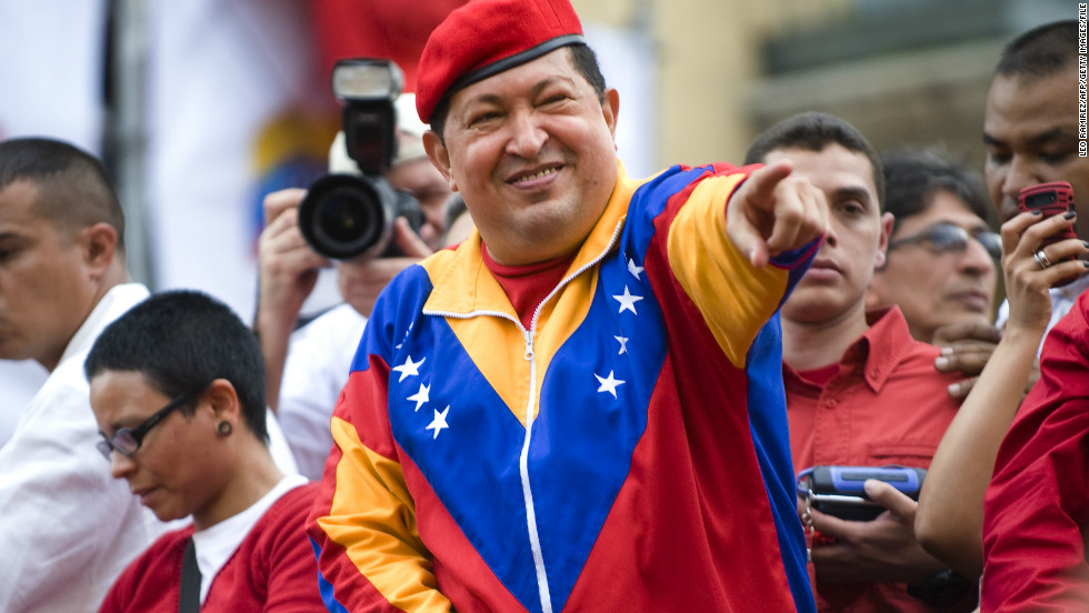 "<strong>March 2013: </strong>Venezuelan President Hugo Chavez's <a href=""http://www.cnn.com/2013/03/05/world/americas/venezuela-chavez-main"">death received mixed reactions and left a country deeply divided</a>.<br /><br />""We shouldn't be partying,"" said Ernesto Ackerman, a Chavez opponent and president of the Independent Venezuelan-American Citizens, a nonprofit organization that helps Latinos become U.S. citizens. ""We're only half of the country; the other half still supports Chavez. We should be asking (for) democracy, democracy, democracy, constitution. This is a most critical moment.""<br /><br />Elections were held 30 days later, and Nicolás Maduro, Chavez's handpicked successor, was sworn in after securing 50.7% of the vote."