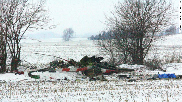 A Mercy Medical Center-North Iowa Air-Med helicopter crashed in a field in northern Iowa.