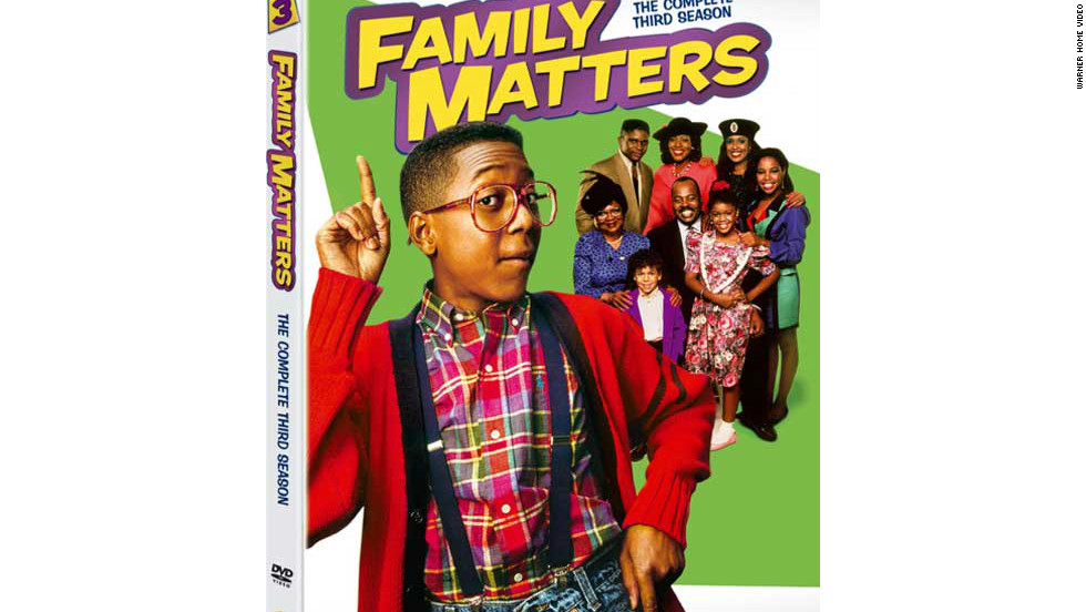 "An anchor for ABC's 1990s ""TGIF"" lineup, ""Family Matters"" made Jaleel White's Steve Urkel one of the most popular TV characters of the time. So it's easy to forget that ABC actually canceled the show in 1997, and CBS, eager to start its own successful Friday comedy night, scooped it up for an eighth season, along with the Suzanne Somers-Patrick Duffy series ""Step by Step."" It lasted just long enough to see Urkel go into space -- by that point one of its least fantastical storylines -- but it was a one-and-done affair for the ""Eye Network."""