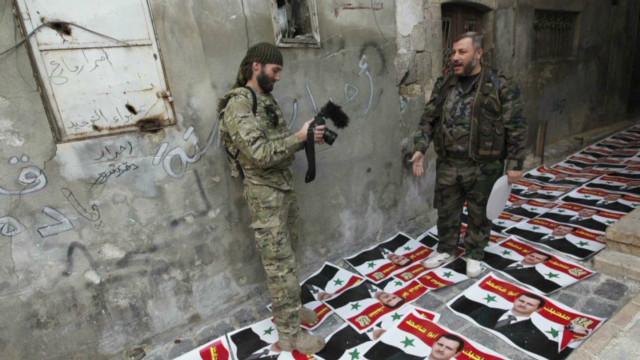 Filmmaker tells Syrian rebels' story