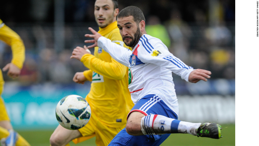 Lisandro Lopez fired his side ahead for the first time in the contest from the penalty spot after 62 minutes as Lyon looked to have broken Epinal's heart.