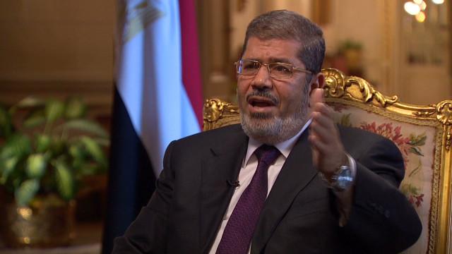 Morsy on al-Assad and war crimes