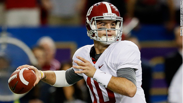 Alabama QB's second chance at life