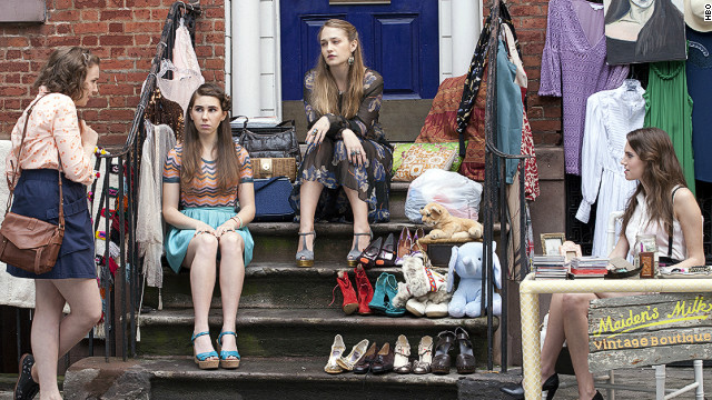 """Girls"" is among the shows nominated in the comedy category."