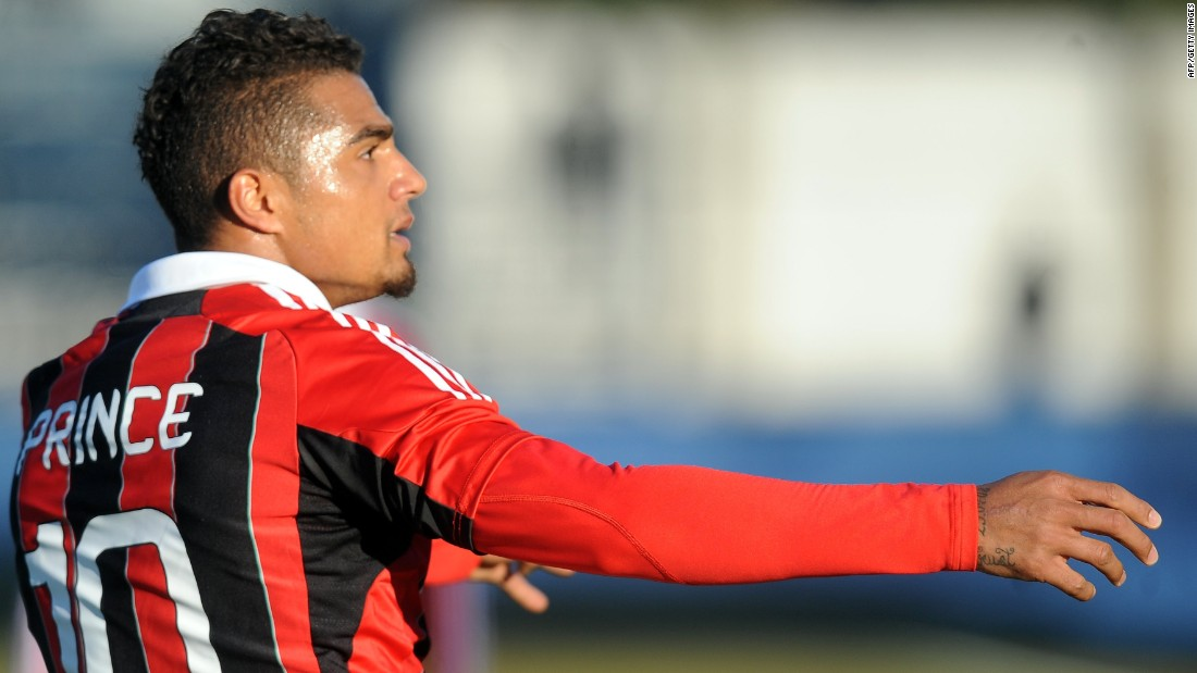 "In January 2013, AC Milan midfielder Kevin-Prince Boateng led his team off the pitch after being subjected to racist chanting. His actions were hailed across the world. But Blatter was more cautious about the issue, refusing to support the move. ""I don't think you can run away, because eventually you can run away if you lose a match,"" he said in an interview with a newspaper in the UAE. ""This issue is a very touchy subject, but I repeat there is zero tolerance of racism in the stadium; we have to go against that."" Others, like AC Milan president Silvio Berlusconi, have disagreed with him. ""I am of the opposite view (to Blatter),"" said Berlusconi. ""I thanked and congratulated my players for their decision to leave the field."""